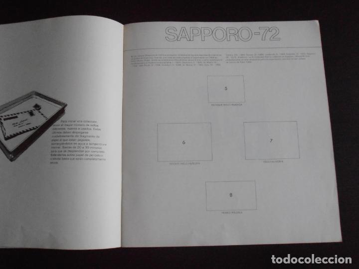 Coleccionismo Álbum: ALBUM DE CROMOS, LOS SELLOS DE LAS OLIMPIADAS, VACIO, PLANCHA, COLACAO - Foto 2 - 261359700
