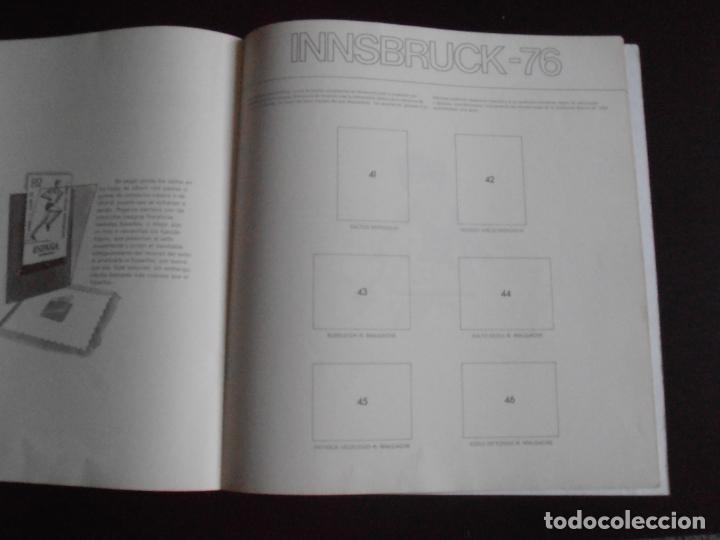 Coleccionismo Álbum: ALBUM DE CROMOS, LOS SELLOS DE LAS OLIMPIADAS, VACIO, PLANCHA, COLACAO - Foto 3 - 261359700