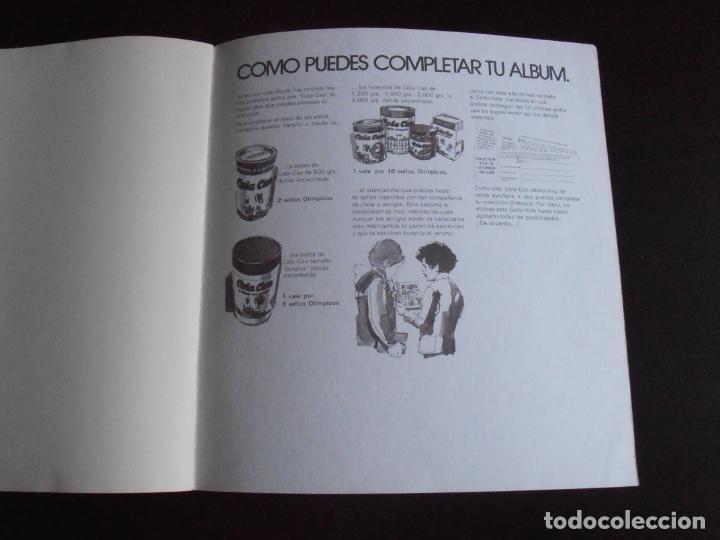 Coleccionismo Álbum: ALBUM DE CROMOS, LOS SELLOS DE LAS OLIMPIADAS, VACIO, PLANCHA, COLACAO - Foto 6 - 261359700
