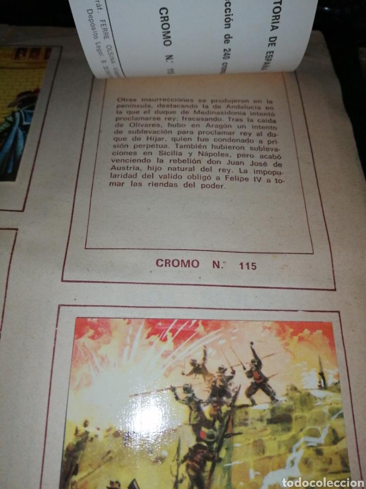 Coleccionismo Álbum: ÁLBUM COMPLETO HISTORIA DE ESPAÑA - Foto 20 - 221748818