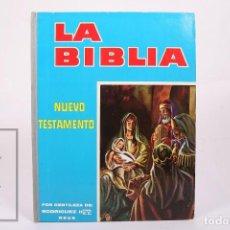 Coleccionismo Álbum: ÁLBUM DE CROMOS DE CHOCOLATE COMPLETO - LA BIBLIA / NUEVO TESTAMENTO - HNOS. RODRIGUEZ REUS 1962. Lote 262885960