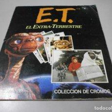 Coleccionismo Álbum: ALBUM COMPLETO ET EL EXTRA TERRESTRE EDICIONES ESTE 1982. Lote 263002450