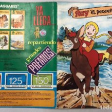 Collezionismo Álbum: ALBUM CROMOS RUY EL PEQUEÑO CID. EDITORIAL FHER, 1980. COMPLETO. Lote 263285910