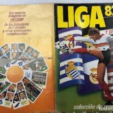 Collezionismo Álbum: ALBUM CROMOS LIGA 82-83. 1ª DIVISION. EDICIONES ESTE. COMPLETO. ULTIMOS FICHAJES Y COLOCAS. Lote 263299855