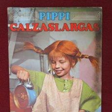 Colecionismo Caderneta: ÁLBUM DE CROMOS PIPPI CALZASLARGAS EDITORIAL FHER DEL AÑO 1974. COMPLETO. Lote 264096915