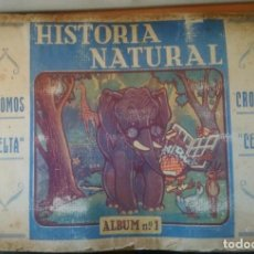 Coleccionismo Álbum: HISTORIA NATURAL. Lote 264159784