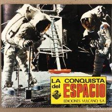 Coleccionismo Álbum: LA CONQUISTA DEL ESPACIO. ÁLBUM DE CROMOS EDICIONES VULCANO. EXCELENTE ESTADO. 448/450.. Lote 264207348