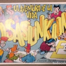 Coleccionismo Álbum: OSASUNKUME, LA AVENTURA DE LA VIDA. RARÍSIMO ÁLBUM DE CROMOS COMPLETO (SIN PEGAR). AÑO 94-95.. Lote 155090766