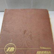 Coleccionismo Álbum: ÁLBUM DE PLATOS TÍPICOS ESPAÑOLES EN POSTALES COMPLETO DE IBERIA. Lote 264966449