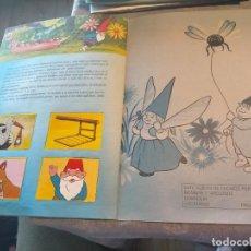 Coleccionismo Álbum: ALBUM LIBRO DE CROMOS DAVID EL GNOMO DANONE 1985 COMPLETO. Lote 265466429