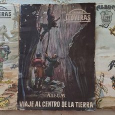 Coleccionismo Álbum: ALBUMES DON QUIJOTE, 20000 LEGUAS VIAJE SUBMARINO Y VIAJE CENTRO TIERRA-IÑIGO FONT (LLOVERAS 1955). Lote 265819754