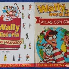 Collezionismo Álbum: WALLY EN LA HISTORIA - WALLY POR EL MUNDO - ORBIS-FABBRI (1998 / 1997). Lote 266426483