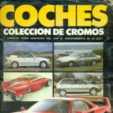 Coleccionismo Álbum: ALBUM DE COCHES DE CUSCO MOTOR 16 COMPLETO MAS REGALO. Lote 267117679