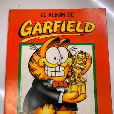 Coleccionismo Álbum: EL ALBUM DE GARFIELD DE PANINI. ALBUM DE CROMOS COMPLETO. EXCELENTE ESTADO.. Lote 267371304