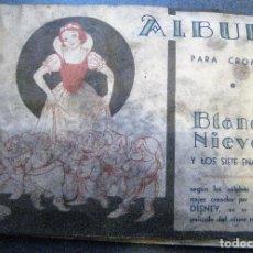 Coleccionismo Álbum: ALBUM CROMOS BLANCANIEVES Y LOS 7 ENANITOS . ED FHER COMPLETO. Lote 267437904