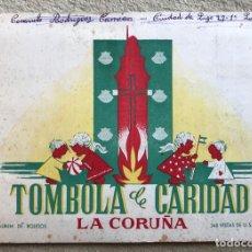 Colecionismo Caderneta: ÁLBUM TÓMBOLA DE CARIDAD - LA CORUÑA - COMPLETO CON 240 CROMOS DE U.S.A. - AÑOS 50. Lote 267482659