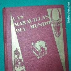 Coleccionismo Álbum: LAS MARAVILLAS DEL MUNDO COMPLETO CON 480 CROMOS. NESTLE. EN BUEN ESTADO.. Lote 267613549