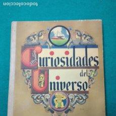 Coleccionismo Álbum: CURIOSIDADES DEL UNIVERSO COMPLETO CON TODOS LOS CROMOS DE LAS 40 SERIES. NESTLE. EN BUEN ESTADO.. Lote 267614294