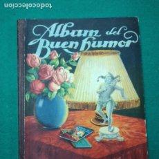 Coleccionismo Álbum: ALBUM DEL BUEN HUMOR FALTA UN CROMO (24 ABRIL) FLAN POTAX. DIBUJOS MUNTAÑOLA. EN BUEN ESTADO. Lote 267615079