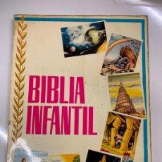 Coleccionismo Álbum: BIBLIA INFANTIL, ALBUM DE CROMOS. COMPLETO. TODAS LAS PAGINAS FOTOGRAFIADAS. EXCELENTE ESTADO.. Lote 267624484