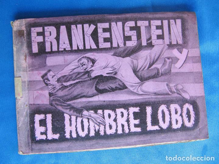 FRANKENSTEIN Y EL HOMBRE LOBO. LON CHANEY. COMPLETO. EDITORIAL FHER, BILBAO, 1940'S (Coleccionismo - Cromos y Álbumes - Álbumes Completos)