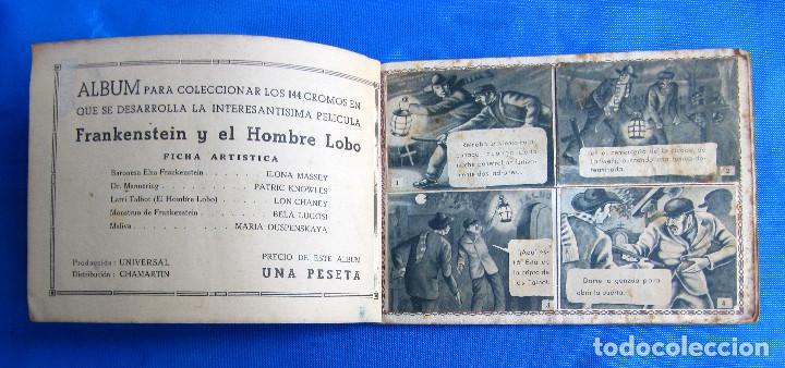 Coleccionismo Álbum: FRANKENSTEIN Y EL HOMBRE LOBO. LON CHANEY. COMPLETO. EDITORIAL FHER, BILBAO, 1940S - Foto 2 - 267756959