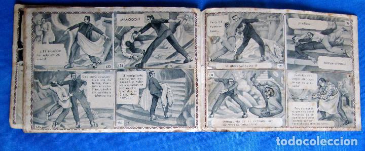 Coleccionismo Álbum: FRANKENSTEIN Y EL HOMBRE LOBO. LON CHANEY. COMPLETO. EDITORIAL FHER, BILBAO, 1940S - Foto 5 - 267756959