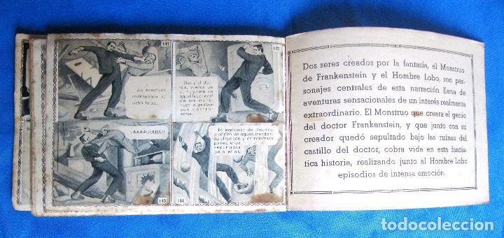 Coleccionismo Álbum: FRANKENSTEIN Y EL HOMBRE LOBO. LON CHANEY. COMPLETO. EDITORIAL FHER, BILBAO, 1940S - Foto 6 - 267756959