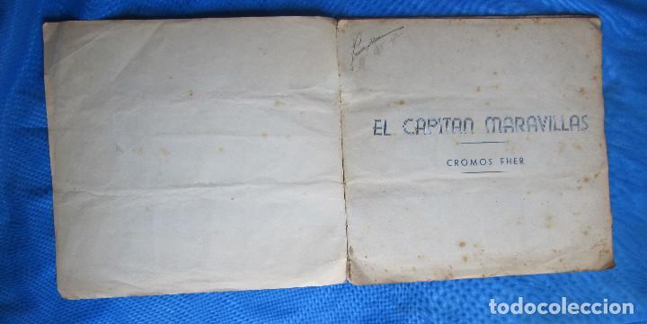Coleccionismo Álbum: EL CAPITÁN MARAVILLAS. COMPLETO. EDITORIAL FHER, BILBAO, 1940S - Foto 2 - 267808234