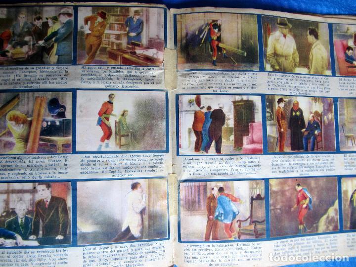 Coleccionismo Álbum: EL CAPITÁN MARAVILLAS. COMPLETO. EDITORIAL FHER, BILBAO, 1940S - Foto 7 - 267808234