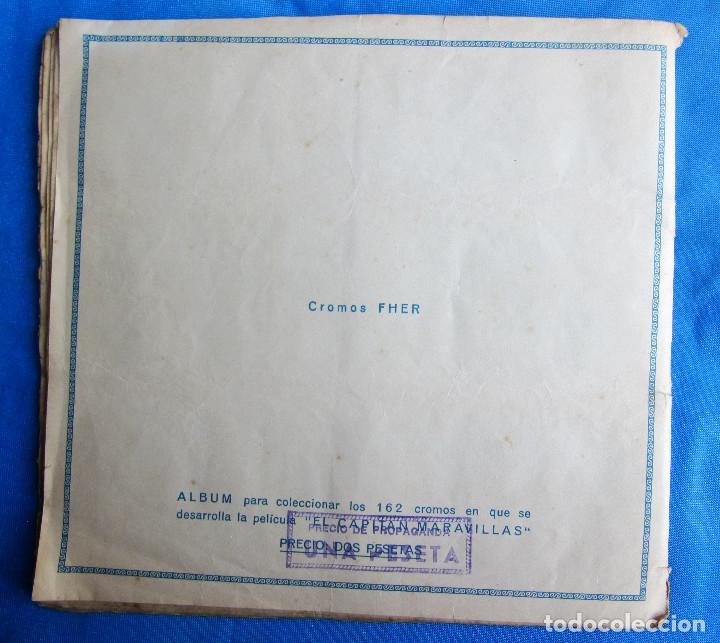 Coleccionismo Álbum: EL CAPITÁN MARAVILLAS. COMPLETO. EDITORIAL FHER, BILBAO, 1940S - Foto 9 - 267808234