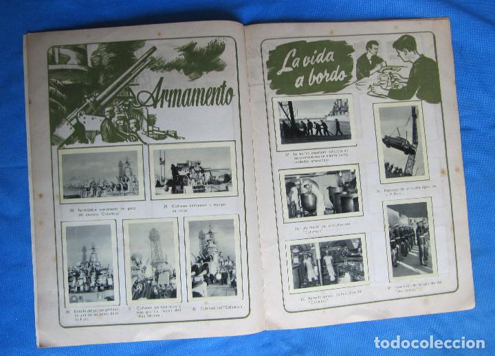 Coleccionismo Álbum: ÁLBUM DE CROMOS COMPLETO LA VI FLOTA AMERICANA EN SU VISITA A ESPAÑA. RUIZ ROMERO, S/F. - Foto 3 - 267894089