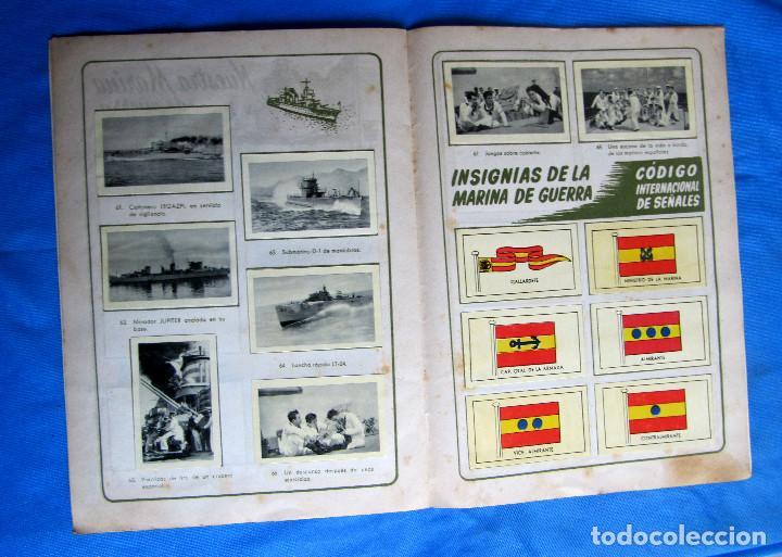 Coleccionismo Álbum: ÁLBUM DE CROMOS COMPLETO LA VI FLOTA AMERICANA EN SU VISITA A ESPAÑA. RUIZ ROMERO, S/F. - Foto 4 - 267894089