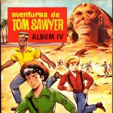 Coleccionismo Álbum: ALBUM COMPLETO AVENTURAS DE TOM SAWYER ALBUM IV CHOCOLATES OLLE. Lote 268410584