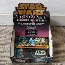 Coleccionismo Álbum: STAR WARS EPISODIO 1 WIDEVISION TRADING CARDS. Lote 269176708