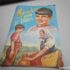 Coleccionismo Álbum: ALBUM COMPLETO MARCELINO PAN Y VINO DE FHER. Lote 269254013