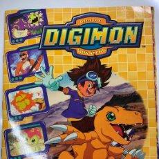 Coleccionismo Álbum: DIGIMON DIGITAL MONSTERS, PANINI. BONITO ALBUM DE CROMOS COMPLETO, INCLUYE POSTER. TODO FOTOGRAFIADO. Lote 269711543