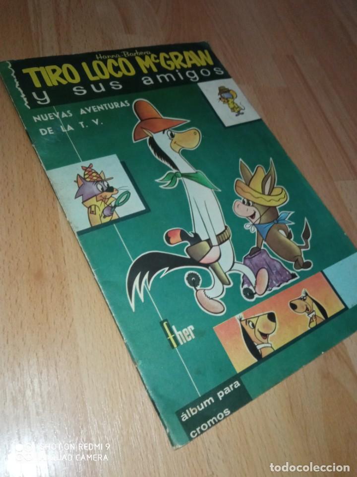 ALBUM CROMOS 'TIRO LOCO MCGRAW Y SUS AMIGOS' FHER COMPLETO (Coleccionismo - Cromos y Álbumes - Álbumes Completos)