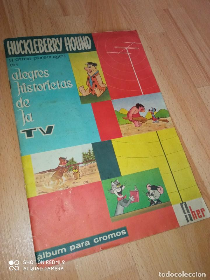 ALBUM CROMOS 'HUCKLEBERRY HOUND' EDITORIAL FHER COMPLETO (Coleccionismo - Cromos y Álbumes - Álbumes Completos)
