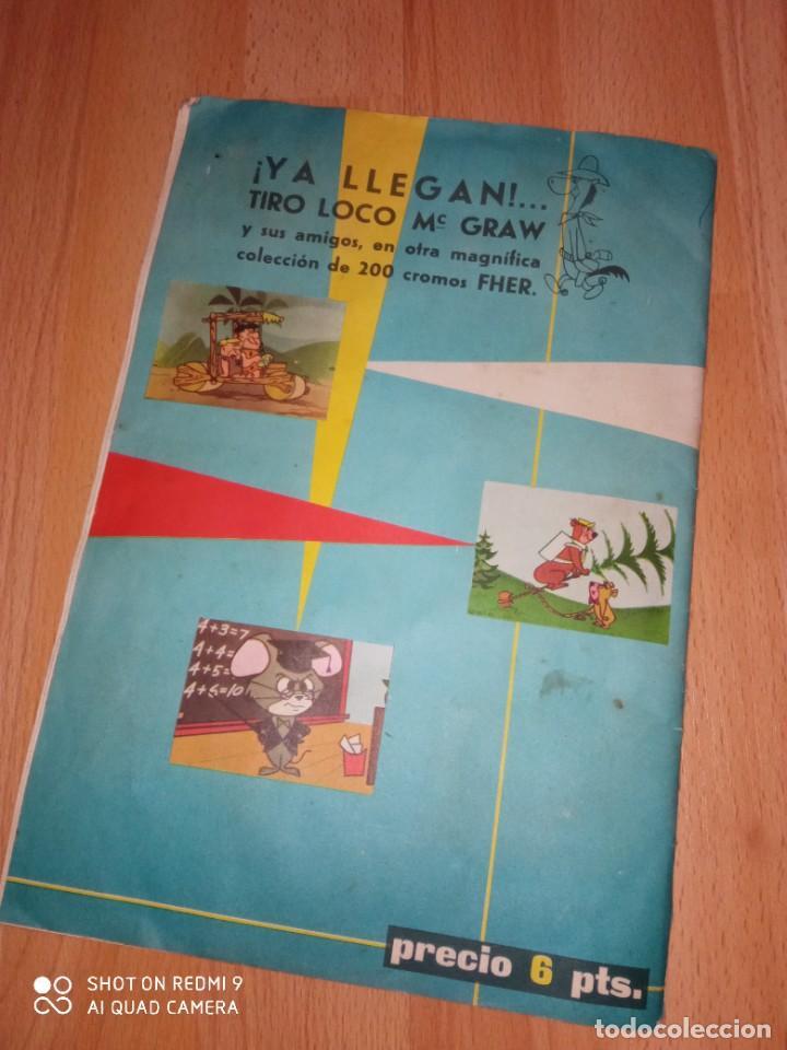 Coleccionismo Álbum: Album cromos Huckleberry Hound editorial Fher completo - Foto 10 - 270148228