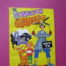 Coleccionismo Álbum: INSPECTOR GADGET ALBUM DE CROMOS COMPLETO BUEN ESTADO.. Lote 270180268