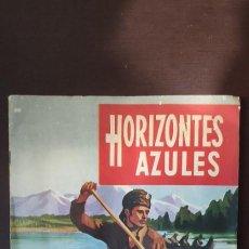 Coleccionismo Álbum: HORIZONTES AZULES. COMPLETO Y EN MUY BUEN ESTADO. Lote 270638968