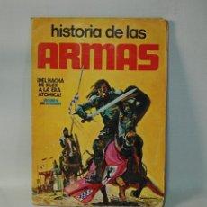 Coleccionismo Álbum: HISTORIA DE LAS ARMAS, DEL HACHA DEL SÍLEX A LA ERA ATÓMICA COMPLETO 300 CROMOS. ESTE 1971.. Lote 270660223