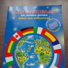 Coleccionismo Álbum: ALBUM DE LAS BANDERAS DEL MUNDO ENTERO COMPLETO CON 192 PAISES. Lote 270948703