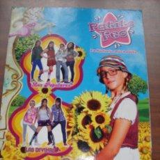 Coleccionismo Álbum: ALBUM DE PATITO FEO LA HISTORIA MAS BONITA COMPLETO. Lote 270949258