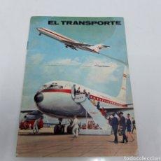 Coleccionismo Álbum: ALBUM CROMOS EL TRANSPORTE.. Lote 270952493