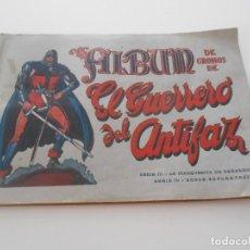 Coleccionismo Álbum: ORGIINAL ALBUM CROMOS EL GUERRERO DEL ANTIFAZ SERIE III Y IV EDITORIAL VALENCIANA AÑOS 40. Lote 273155763