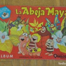 Coleccionismo Álbum: LA ABEJA MAYA - ALBUM DE CROMOS COMPLETO - EDICIONES QUELCOM 1978. Lote 273158038