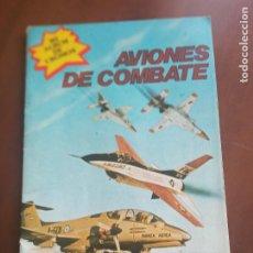 Coleccionismo Álbum: ALBUM DE CROMOS AVIONES DE COMBATE. Lote 275234073