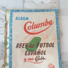 Coleccionismo Álbum: ALBUM COLUMBA , ASES DEL FUTBOL ESPAÑOL Y SUS CLUBS.. Lote 276173133